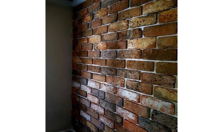 Гипсовая плитка под кирпич (46 фото) — белая декоративная плитка для внутренней отделки интерьера, декор квартиры и дома