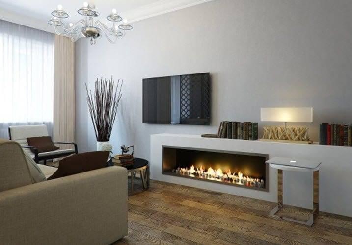 Гостиная с камином: обустройство дома и квартиры со вкусом (44 фото) | дизайн и интерьер