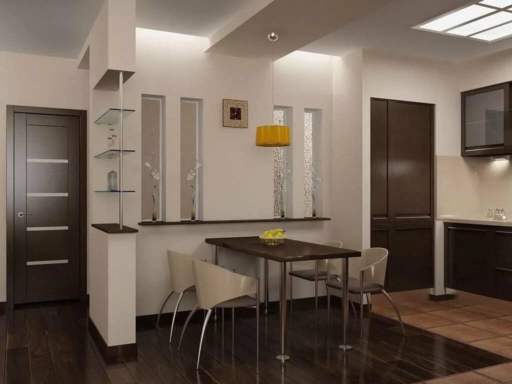 Кухня в прихожей: правила и планировка кухни в коридоре (52 фото)
