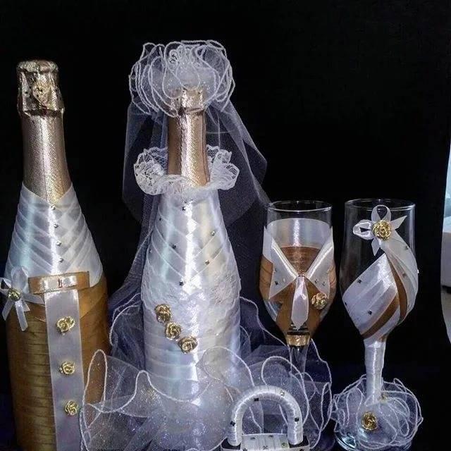 """ᐉ """"для чего нужны две бутылки шампанского на свадьбе?["""