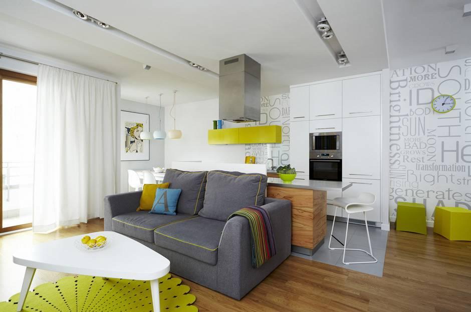 Дизайн квартиры-студии 20 кв. м. – фото интерьера, выбор цвета, освещения, идеи обустройства