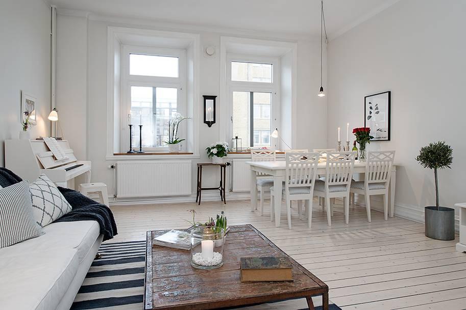 Белый дуб в интерьере — 75 фото идей дизайна