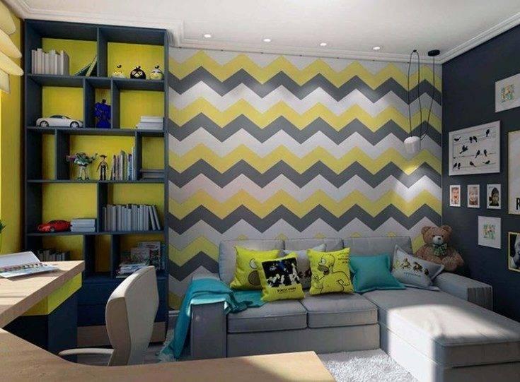 Цветовые схемы для комнаты мальчика-подростка: 60 примеров