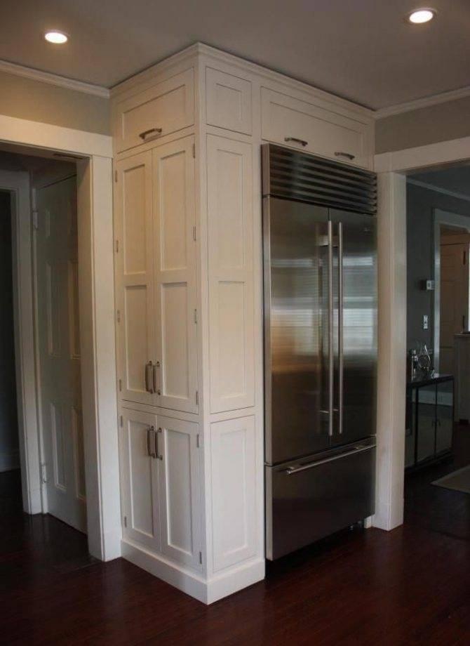 Холодильник в коридоре: дизайн интерьера с экономией пространства