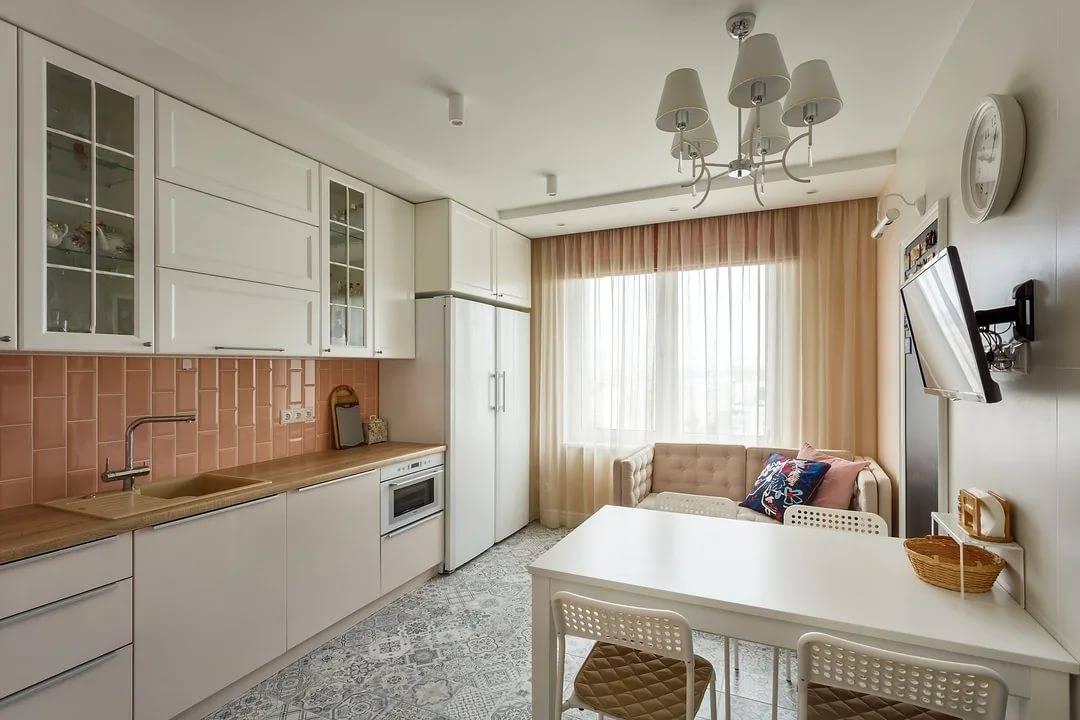 Кухня 9 кв. м. — гид удобной и функциональной планировки. 70 фото готовых решений!
