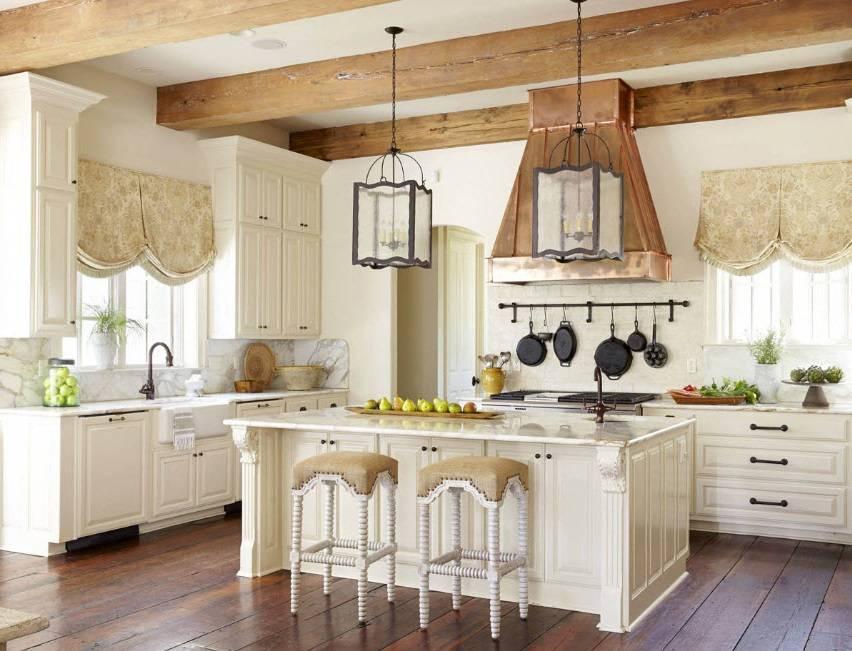 Дизайн кухни в стиле кантри — особенности интерьера +75 фото - «стили» » «дизайна интерьера»