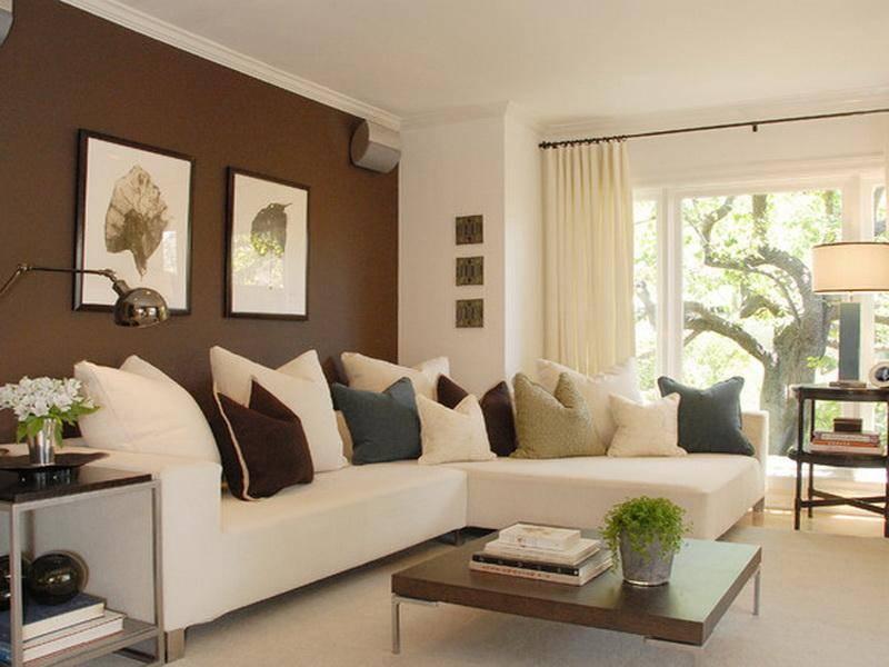 Сочетание цветов в интерьере стен  правила зонирования различных комнат