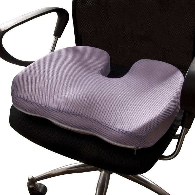 Как выбрать ортопедическую подушку для сидения