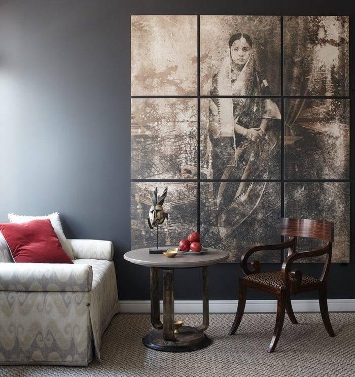 Картины для интерьера - виды, особенности украшения и стильные идеи применения (110 фото)