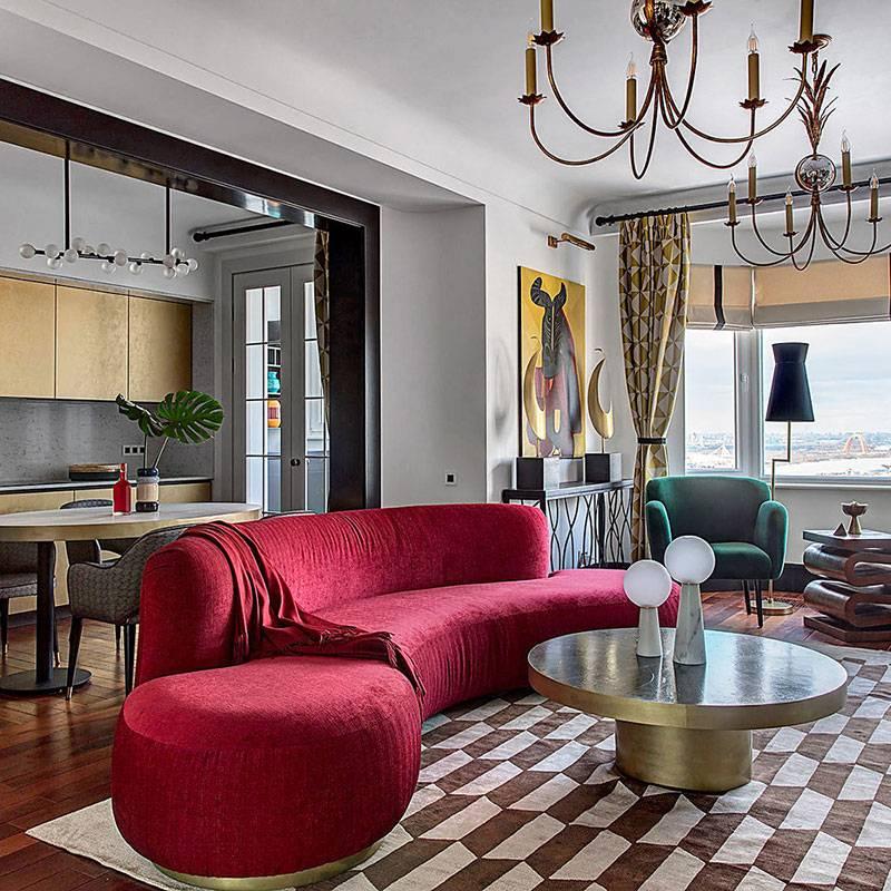 Кухня в стиле эклектика - особенности сочетания дизайна +80 фото