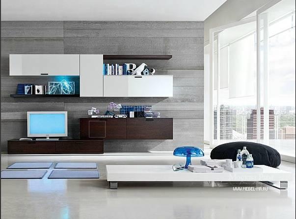 Модульные стенки в гостиную (63 фото): выбираем современные и классические стенки в зал, белые мини-стенки и большие модули в гостиную в стиле классика