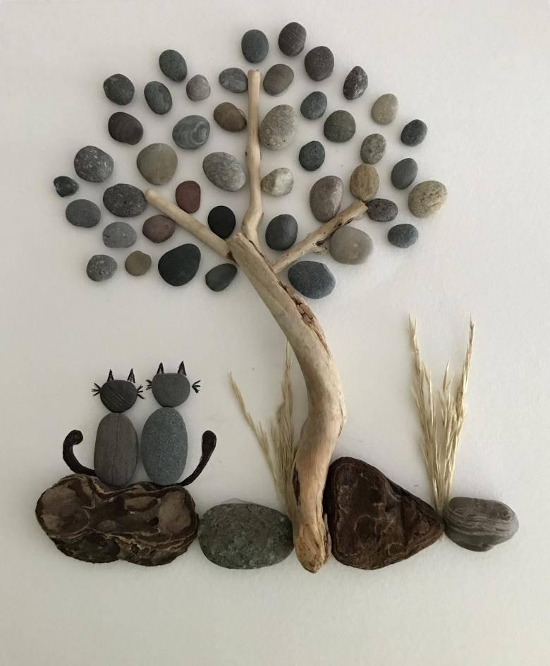 Поделки из камней: простой мастер-класс по созданию поделки своими руками, интересные идеи изделий из камней + простые шаблоны для начинающих