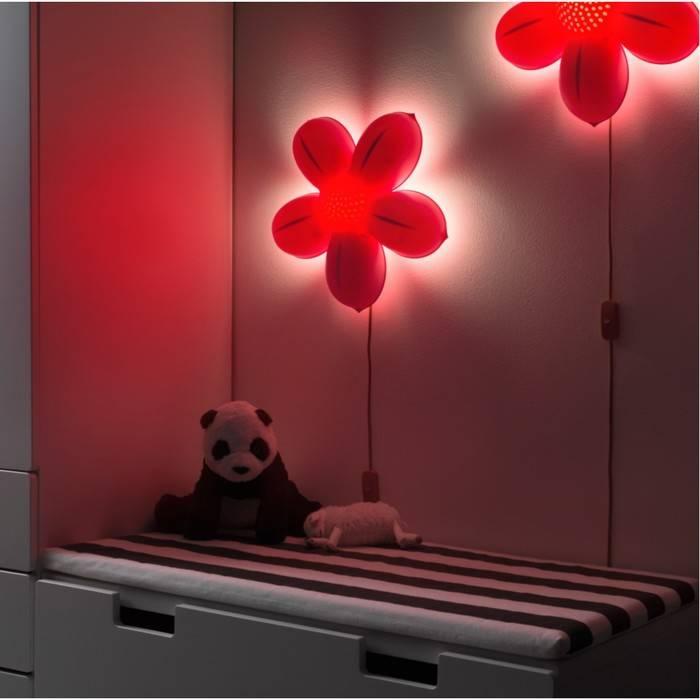 Ночники в спальню: обзор необычных вариантов оформления в интерьере спальни (65 фото)