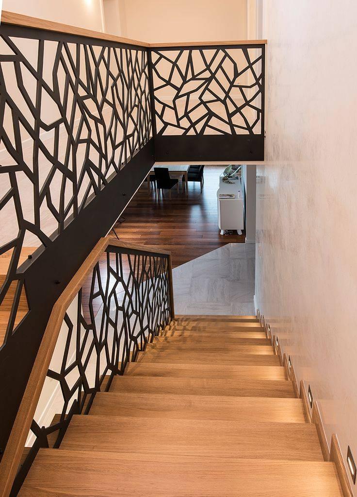 Отделка лестницы в доме: выбор стиля и материалов