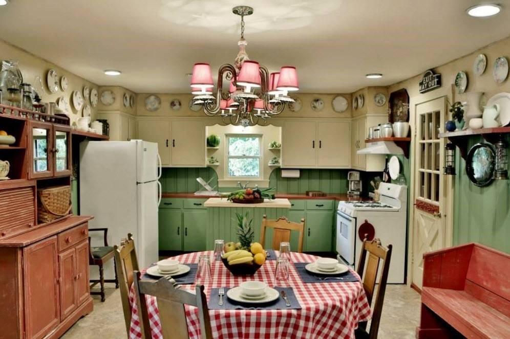 Дизайн кухни в стиле ретро: особенности стиля и советы по оформлению