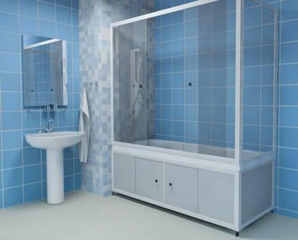 Ширма для ванны:  установка шторок для душа, как сделать и установить дверцы вместо шторы своими руками