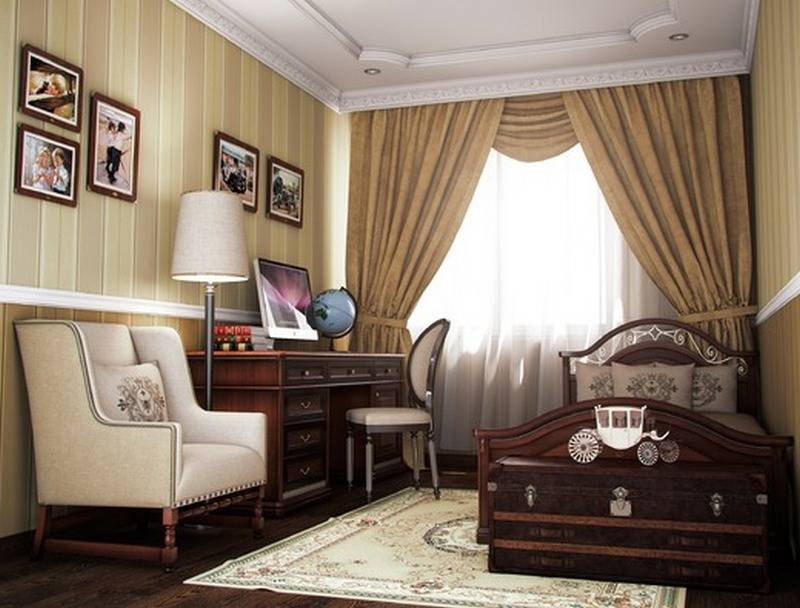 Современная классика в интерьере: дизайн мебели, стиль - 26 фото