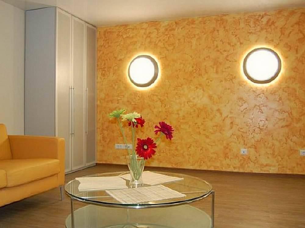 Применение жидких обоев в интерьере различных комнат