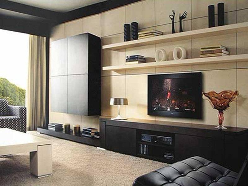 Полки в гостиную: топ-115 красивых фото примеров дизайна современных полок