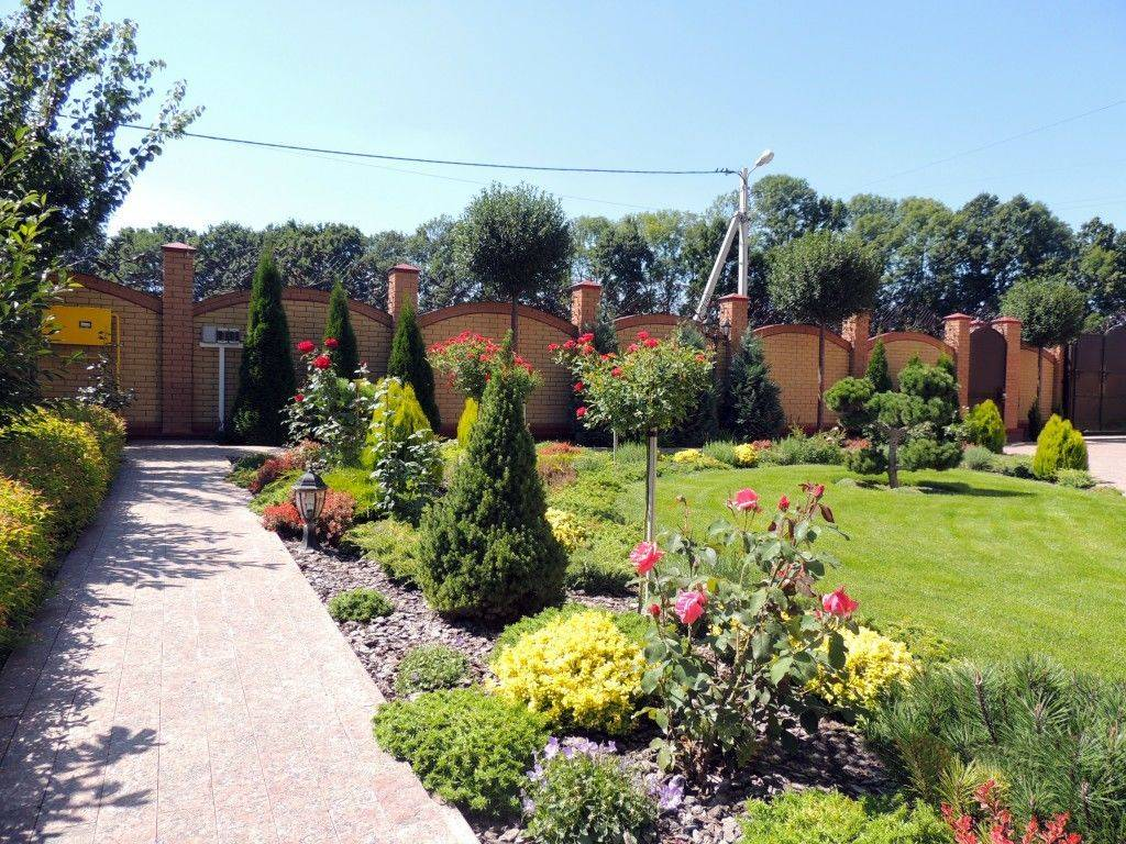 Лучшие идеи благоустройства участка загородного частного дома + цены