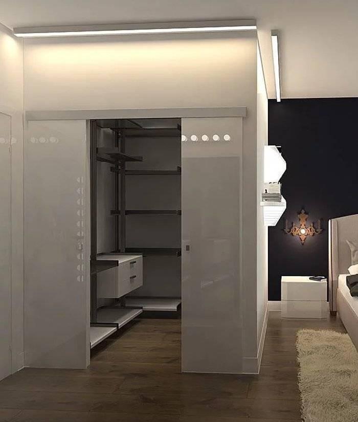 Гардеробная в спальне +100 фото: дизайн спальни с гардеробной
