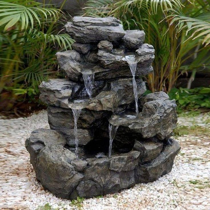 Как сделать водопад своими руками на даче: разбираем в общих чертах