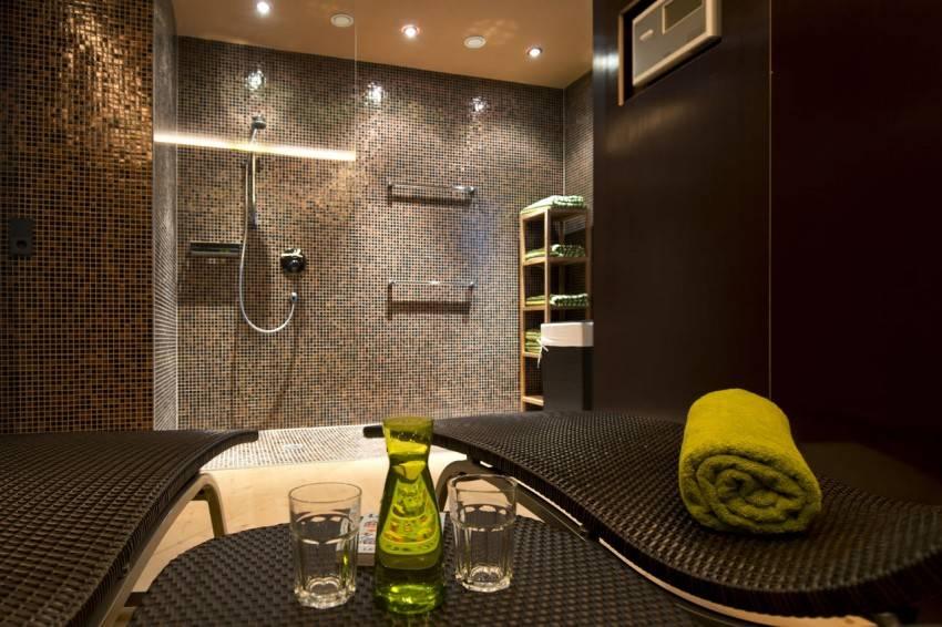 Мозаика в дизайне ванной комнаты - 83 фото современного дизайна