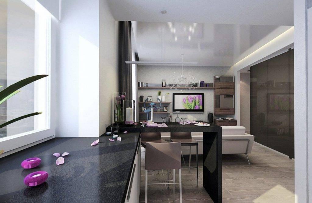 Идеальный дизайн прямоугольной кухни: решение для большой и маленькой площади