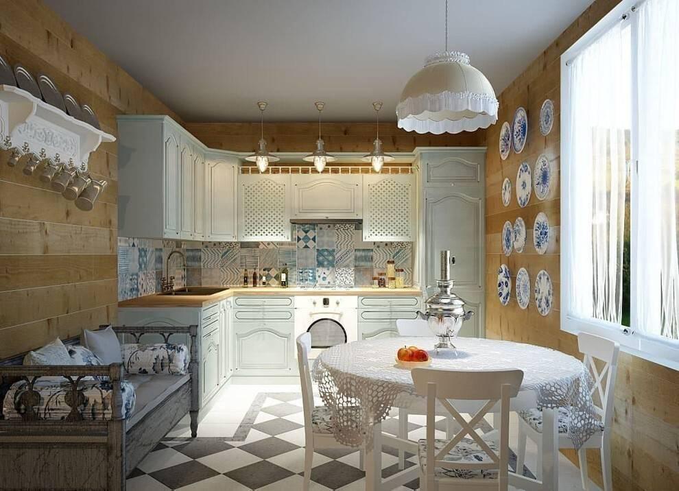 Кухня в стиле кантри: 125 фото оформления интерьера для загородного дома
