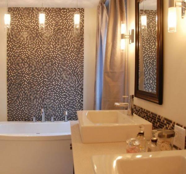 Мозаика в ванной комнате: дизайн +75 фото - «интерьер ванной»
