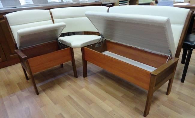 Кухонные диваны с ящиком для хранения (52 фото): угловые и прямые диванчики на кухню без спального места и другие модели