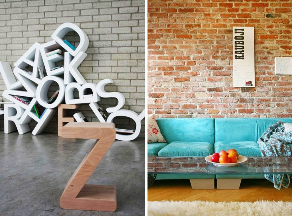 Буквы в домашнем декоре - 96 фото примеров