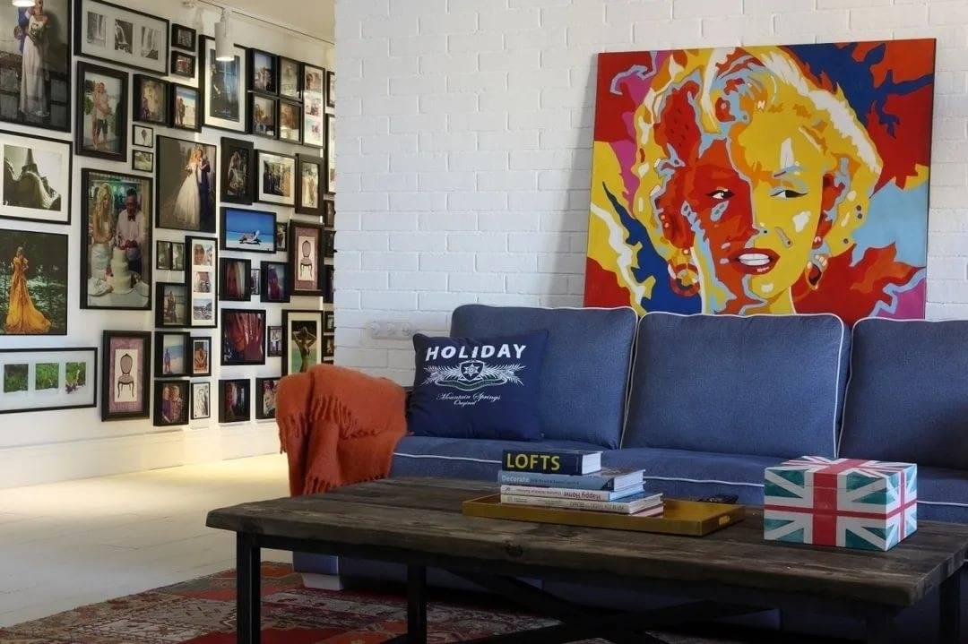 Как правильно выбрать картины  и разместить их в интерьере квартиры: лучшие идеи 2021 года