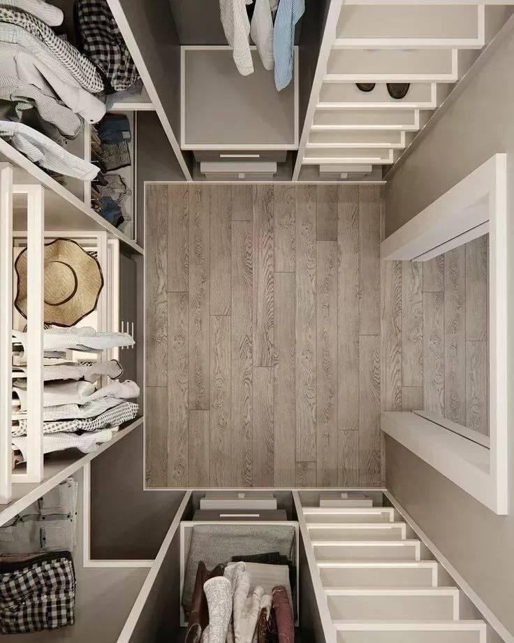 Планирвание гардеробной в хрущевке вместо кладовки: 35 фото
