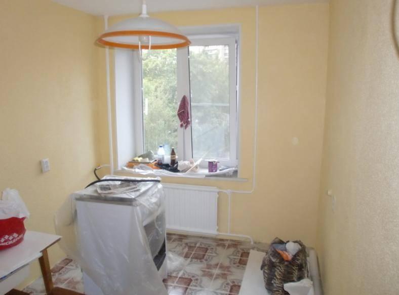 Покраска стен на кухне: пошаговое руководство и советы для начинающих (40 фото)