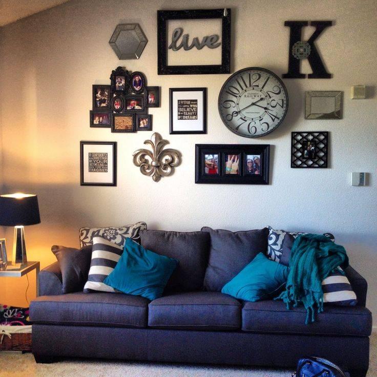 Стены в гостиной: гид по дизайну и оформлению