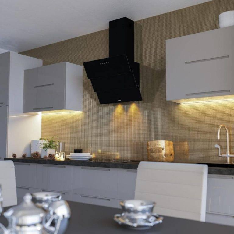 Размеры вытяжек на кухню: размеры ширины 45, 50, 50, 70 и 90 см для купольной и наклонной вытяжки