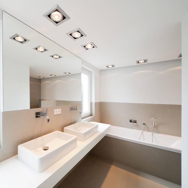 5 причин забыть про точечные светильники при освещении квартиры.