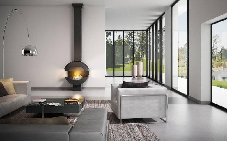 Камин в интерьере гостиной – полезные советы, идеи, фото для организации уютного пространства