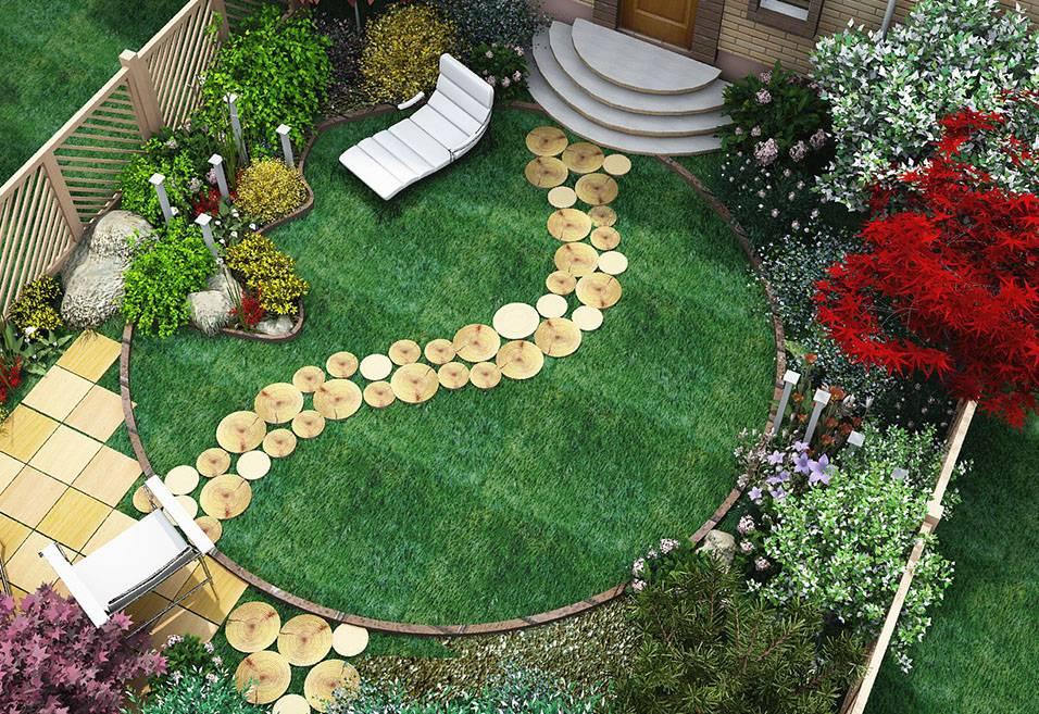 Экономный дизайн садового участка - интересные идеи своими руками