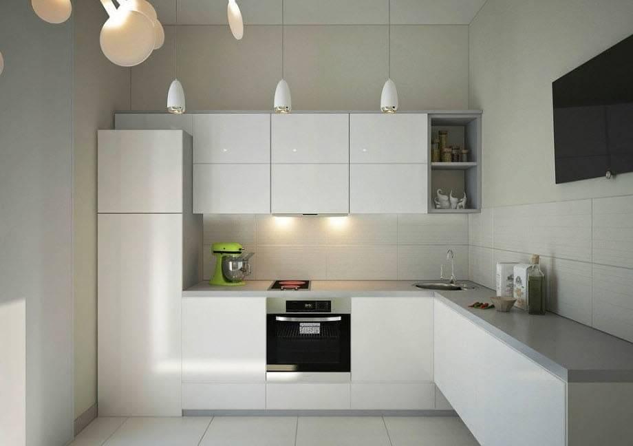 Особенности дизайна угловой кухни