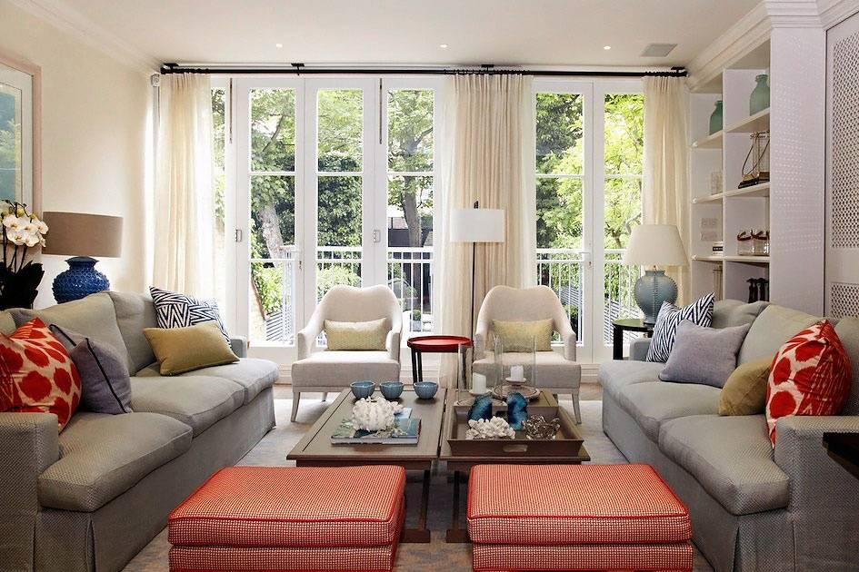 Как расставить мебель в гостиной: 100 фото лучших примеров
