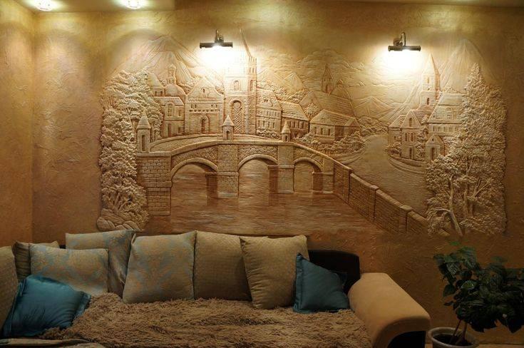 Барельеф своими руками для начинающих (20 фото): как сделать барельеф на стене пошагово? простые картины на гипсокартоне и других материалах