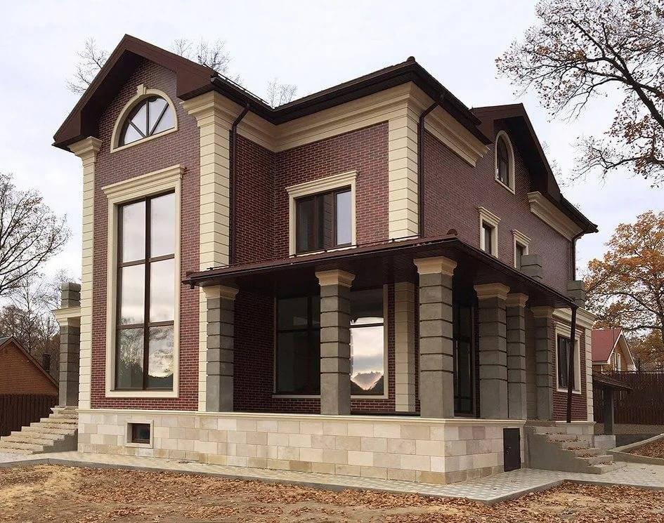 Красивые фасады домов: современные тенденции в оформлении