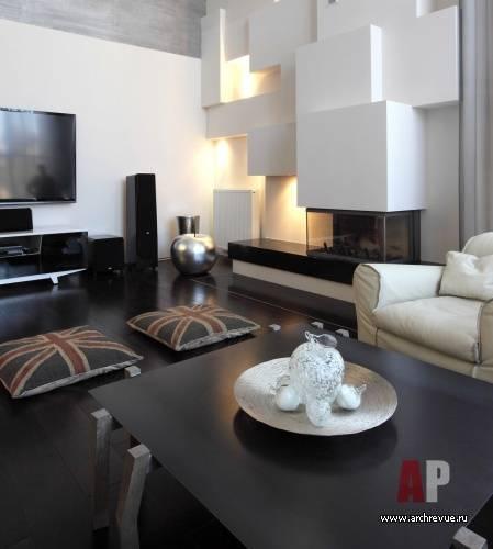 Гостиная с камином -150 фото удачных примеров вдохновляющего дизайна интерьера