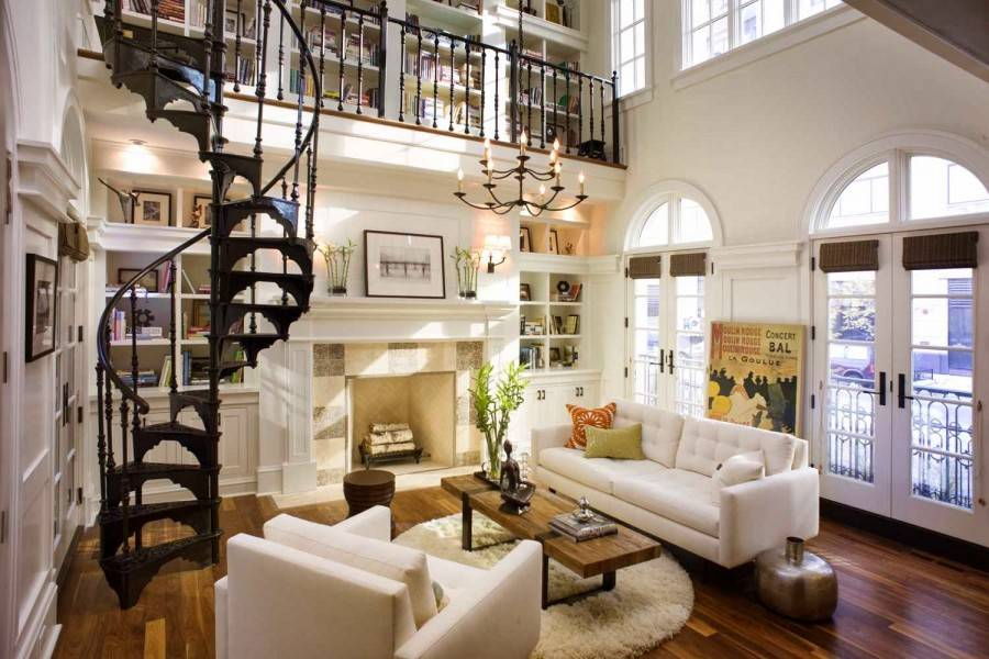 Лестница в доме: виды и идеи современного дизайна (40 фото) | дизайн и интерьер