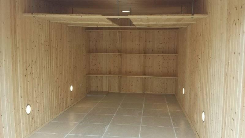 Как сделать внутреннюю отделку гаража своими руками: идеи и материалы +видео