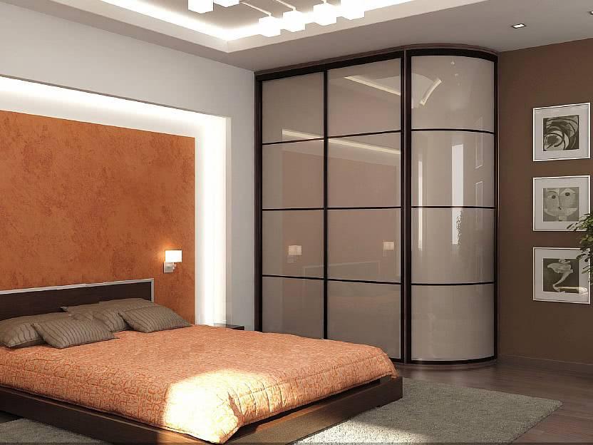 Шкаф-купе в спальню: фото новинок с размерами современных моделей, примеры использования в дизайне