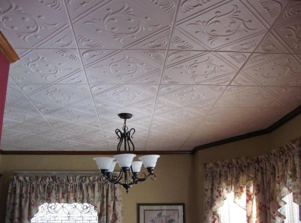 Декор потолка – обзор модных идей - 13 фото