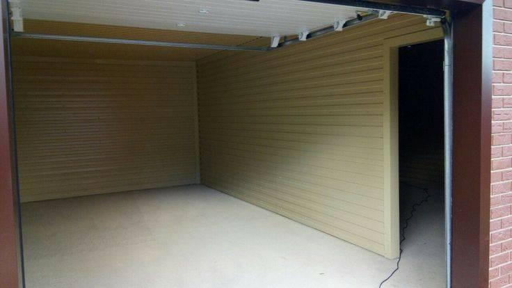 Самостоятельная отделка стен в гараже: чем и как обшить гараж изнутри